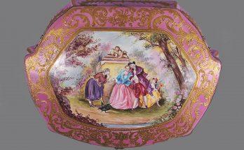 """Sevres"" Porcelain Box"