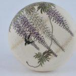 Pottery incense box. Satsuma ware. Japan. Meiji period