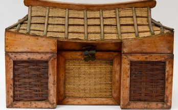 WOOD, BAMBOO AND WICKER BOX Japanese